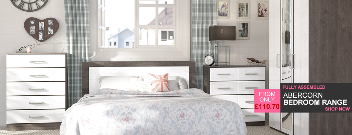 HOMEPAGE - Abercorn Chocolate Oak Bedroom Range - 10% Off