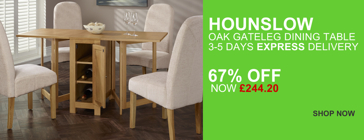 HOMEPAGE - Hounslow Gateleg Table - 67% Off