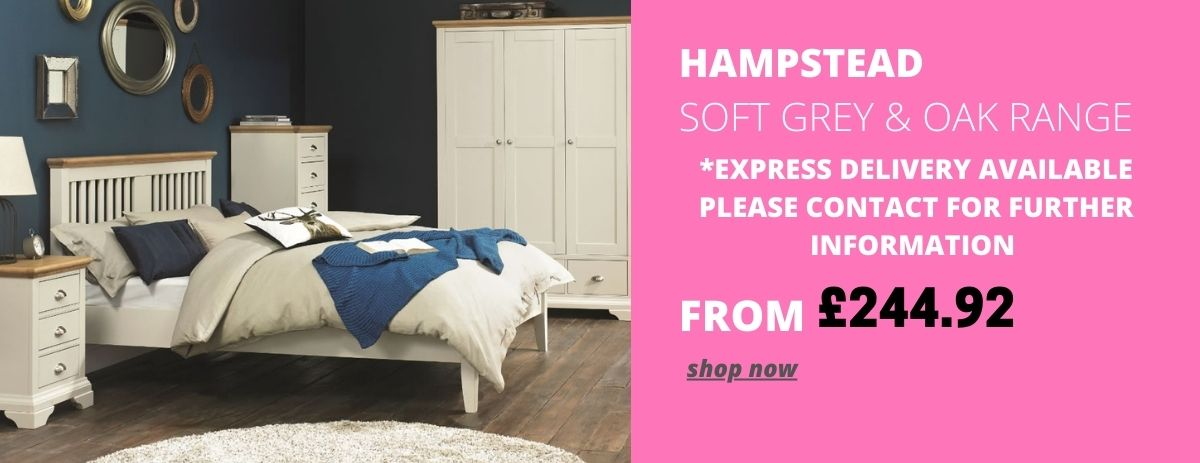 HOMEPAGE - Hampstead Soft Grey and Walnut - 30% Off