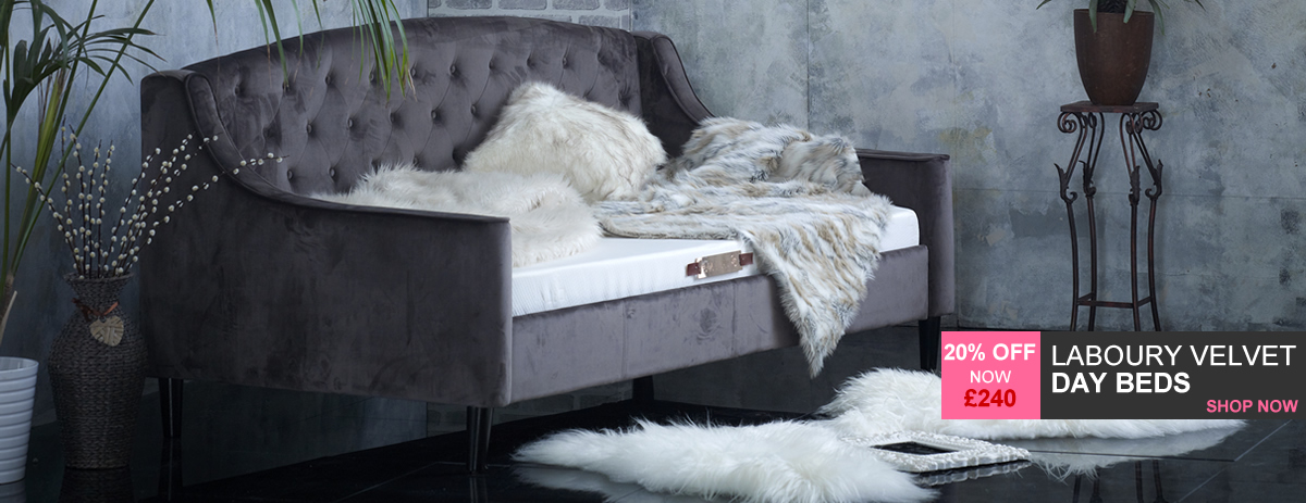 Laboury Day Beds - 20% off - Christmas Delivery