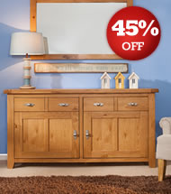 Gatsby Oak Large Sideboard