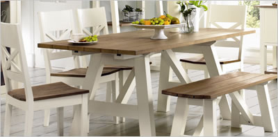 Coniston Two Tone Dining Table