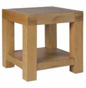 Rosario Oak Lamp Table