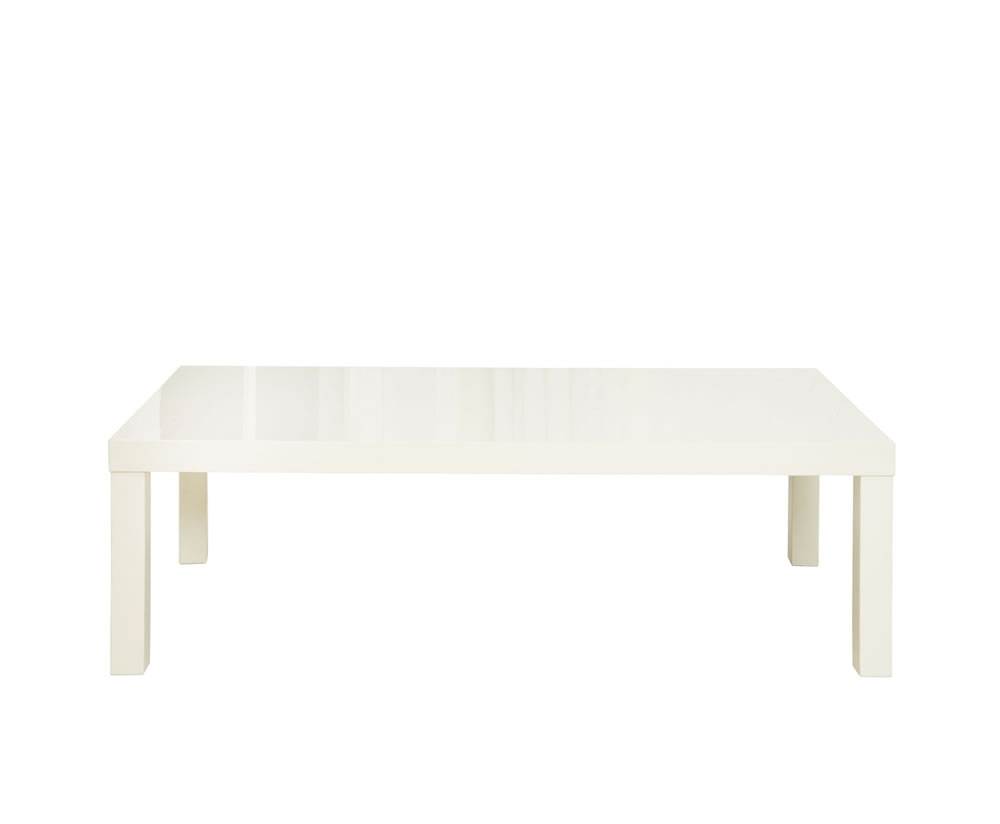 Puro Cream High Gloss Coffee Table