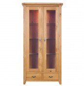 Gatsby Oak Two Door Display Unit