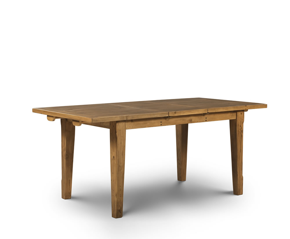 Southsea Antique Pine Extending Dining Table