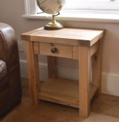 Montreux Solid Oak Lamp Table