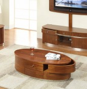 Sasha Walnut Storage Coffee Table