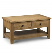 Dexter Oak Storage Coffee Table