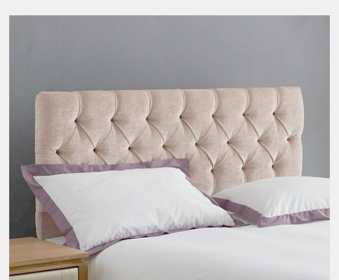 Cloud Fabric Headboard