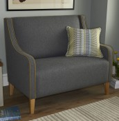 Julianne Upholstered 2 Seater Chair