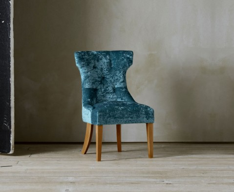 Blue Bedroom Accent Chair