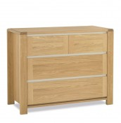 Petra Oak 2+2 Drawer Chest