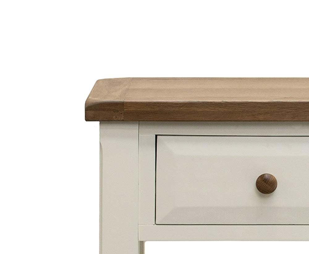 Marne Two Tone Small Console Table