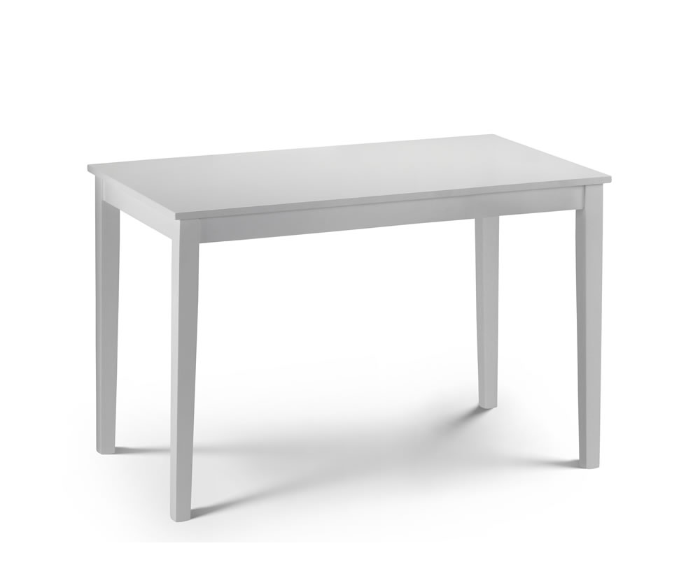 claydon white dining table dining table only