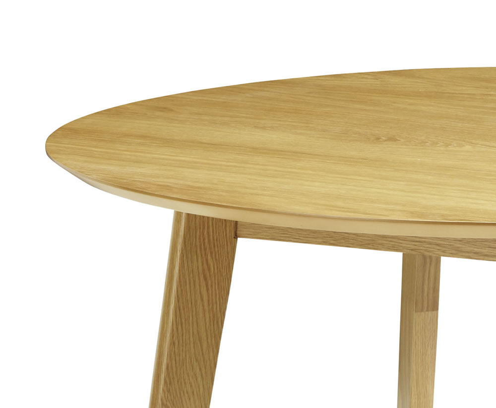 Dalebury Round Oak Dining Table