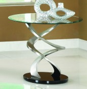 Findon Glass Lamp Table