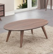 Sheraton Walnut Finish Coffee Table
