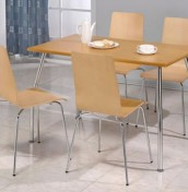 Owl Rectangular Maple Kitchen Table and Chairs