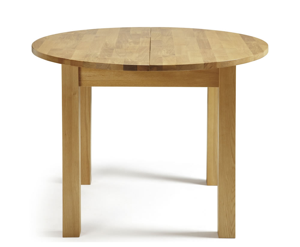 Haycroft Oak Round Extending Dining Table And Chairs Frances Hunt