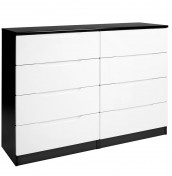 Vogue 8 Drawer High Gloss Chest