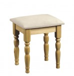 Pickwick Wooden Bedroom Stool