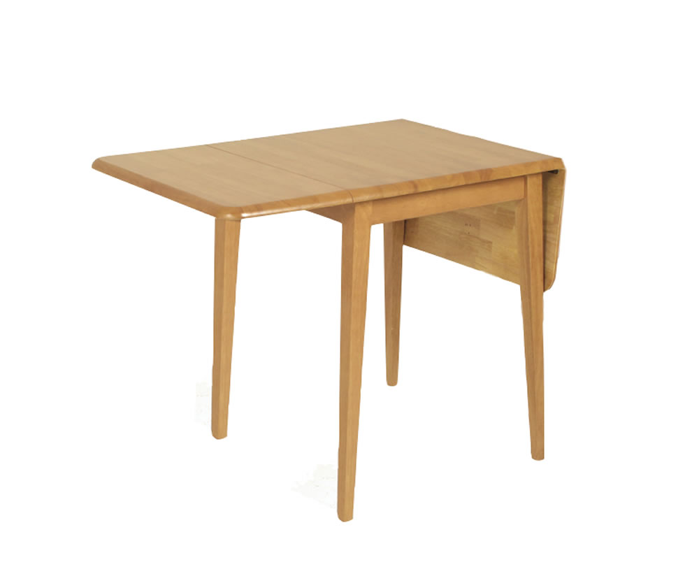 Attwell wooden drop leaf table for Drop leaf dining table