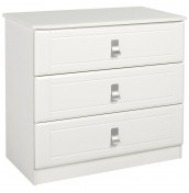 Sigrid Cream 3 Drawer Chest