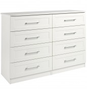 Marcello Cream 8 Drawer Wide Chest