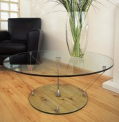 Darlington Glass Coffee Table