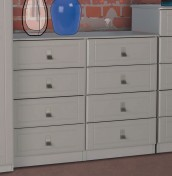 Sigrid Cashmere 8 Drawer Wide Chest