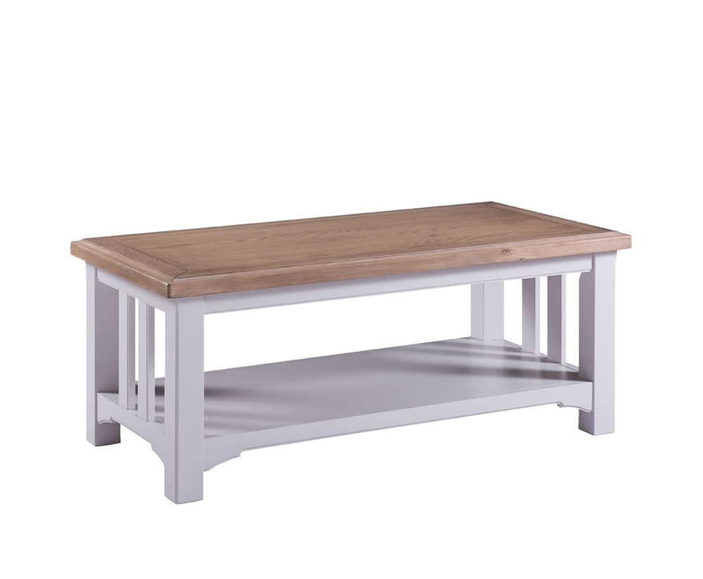 Everette Two Tone Coffee Table