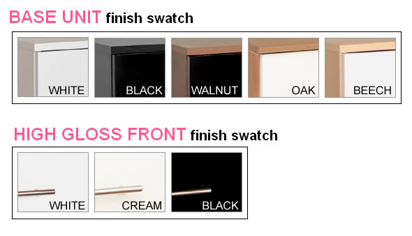 Watson High Gloss 3 Drawer Chest