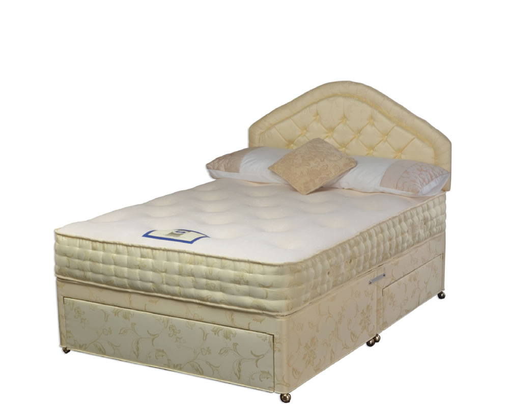 Chelsea pocket sprung memory divan set for Pocket sprung divan set