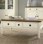 Sophia Two-Tone Coffee Table