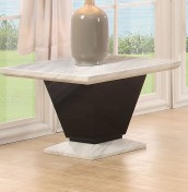 Gomez Marble Lamp Table