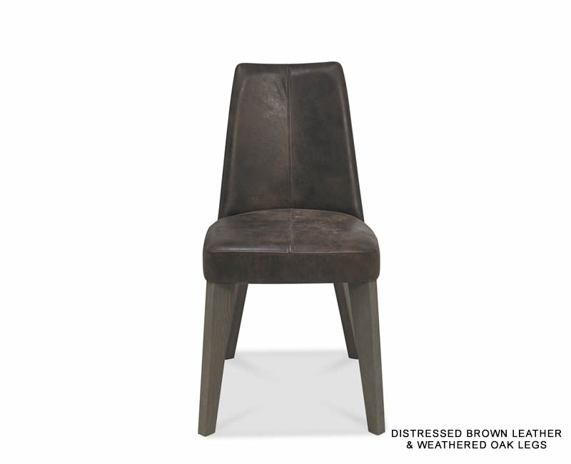 Cadell Oak And Brown Leather Upholstered Dining Chair  : 132552 from www.franceshunt.co.uk size 800 x 650 jpeg 15kB