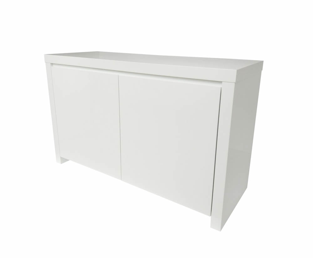 Sideboards Puro White High Gloss Sideboard