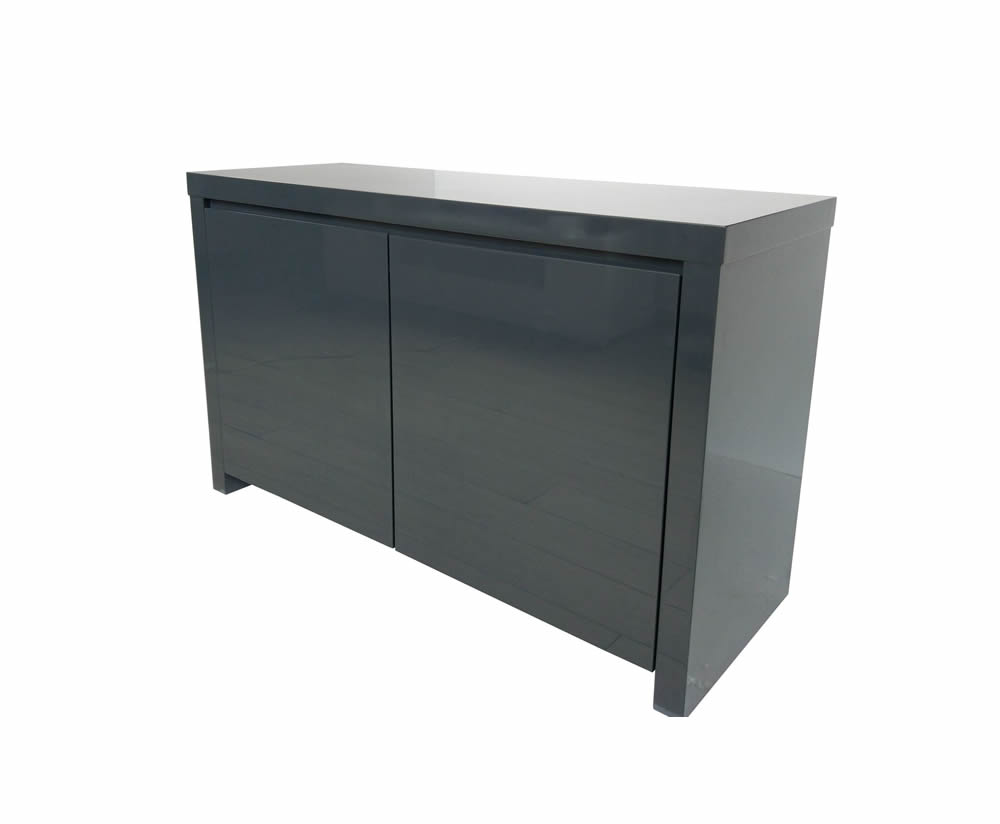 Sideboards Puro Charcoal High Gloss Sideboard