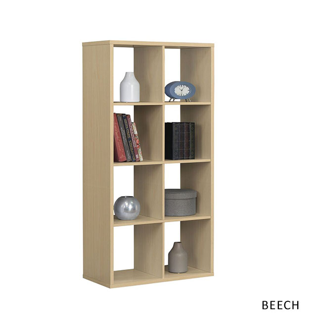 Dice 8 Shelved Unit