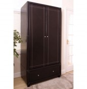 Ashford 2 Door Faux Leather Wardrobe