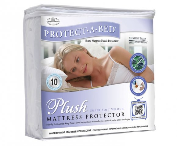 Plush Waterproof Mattress Protector