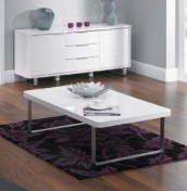 Mya White High Gloss Coffee Table