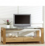 Lucera Oak Entertainment Unit