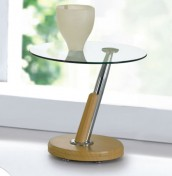 Tokyo Glass Top Lamp Table