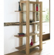 Lyon Oak Open Shelf Unit