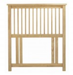Atlantis Natural Slatted Headboard