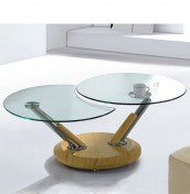 Tokyo Contemporary Glass Coffee Table