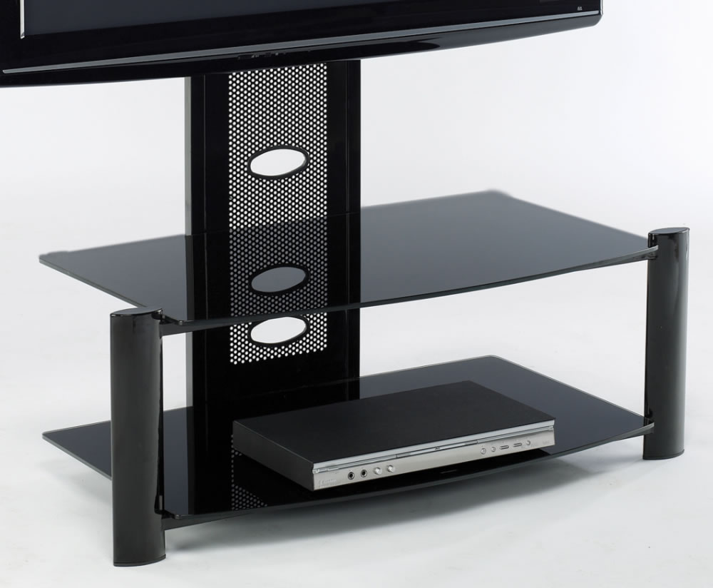 Aruba Black Glass Tv Stand Uk Delivery