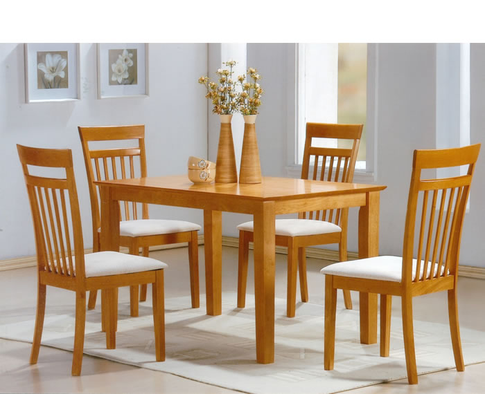 beech dining room furniture | Julian Beech Dining Table and Dining Chairs